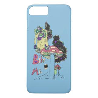 Bite Me (blue) Phone Skin iPhone 8 Plus/7 Plus Case