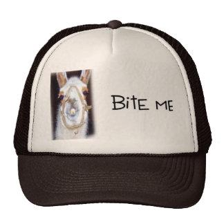 Bite me cap