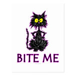 Bite Me! Cat Gift Designs Post Cards