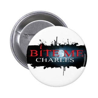 Bite Me Charles - Button