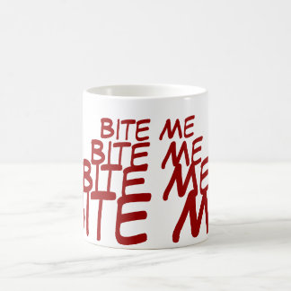 Bite Me Coffee Mug