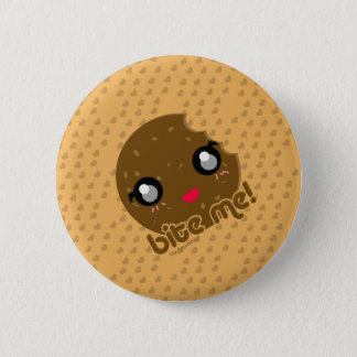 Bite Me! cookie edition 6 Cm Round Badge
