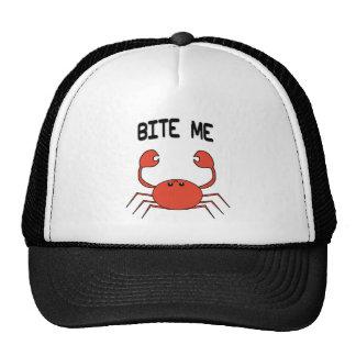 BITE ME (CRAB) TRUCKER HAT