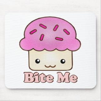 Bite Me Cupcake Mouse Mat