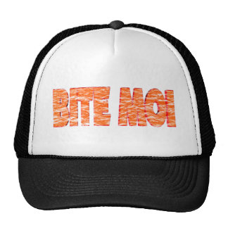 Bite Me Funny T-shirts Gifts Mesh Hat