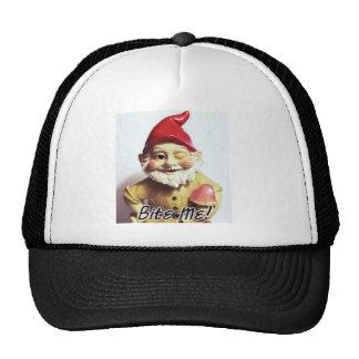 Bite Me Gnome Mesh Hats