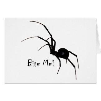Bite Me! Greeting Card