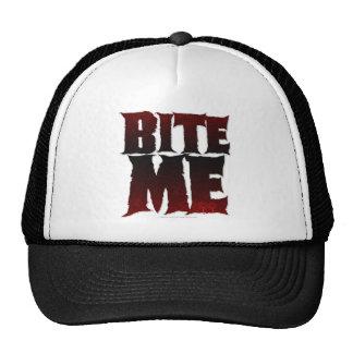bite me trucker hat