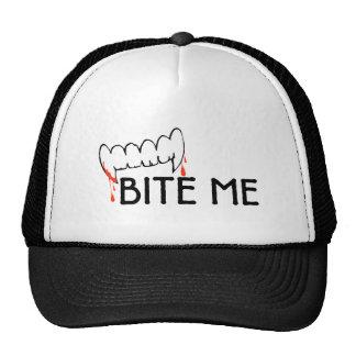 Bite Me Trucker Hats