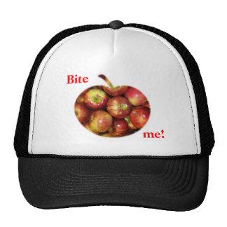 Bite me! trucker hats
