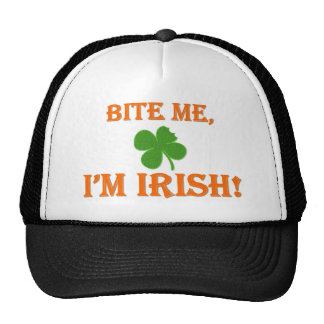 Bite Me I'm Irish Cap