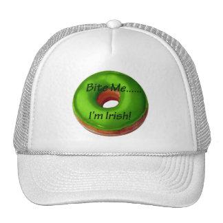 Bite Me - I'm Irish Cap