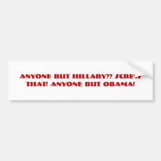 Bite Me Obama! Bumper Stickers