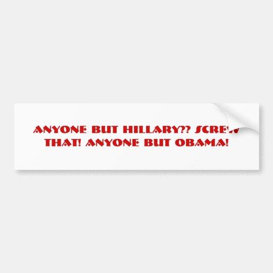 Bite Me Obama! Bumper Sticker