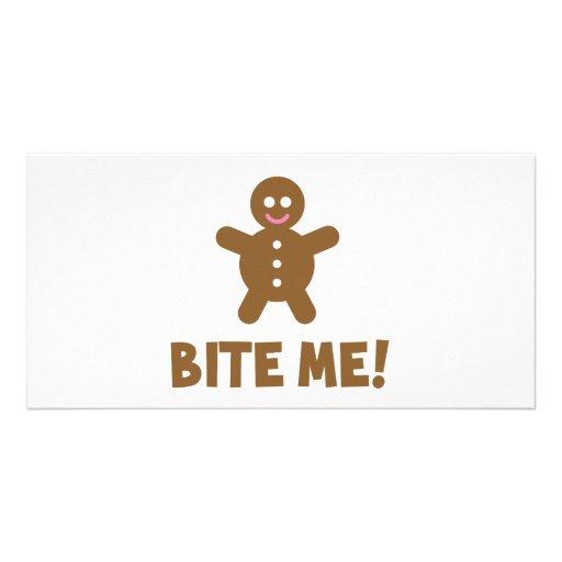 Bite Me Photo Greeting Card