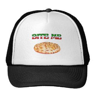 Bite Me (Pizza) Mesh Hats