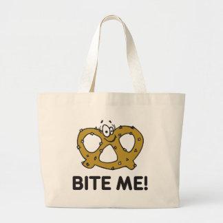 Bite Me Pretzel Gift Tote Bag