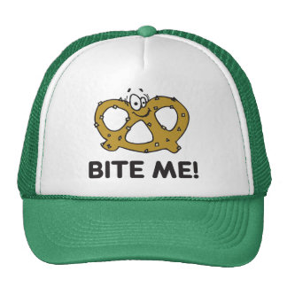 Bite Me Pretzel Gift Cap