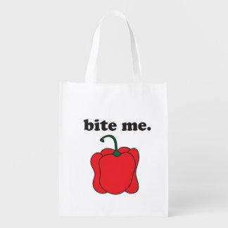 bite me. (red bell pepper)