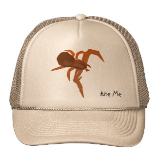 Bite Me Red Spider Hats