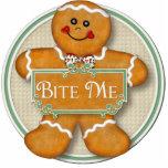 Bite Me Round Ornament