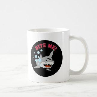 Bite Me Shark Classic White Coffee Mug