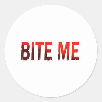 Bite Me Stickers