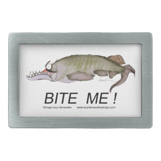 bite me!, tony fernandes belt buckle