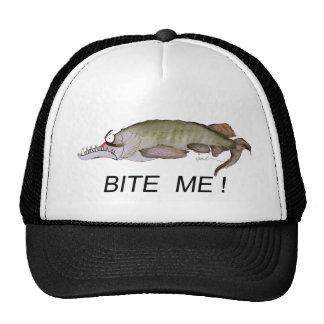 BITE  ME!, tony fernandes Mesh Hats