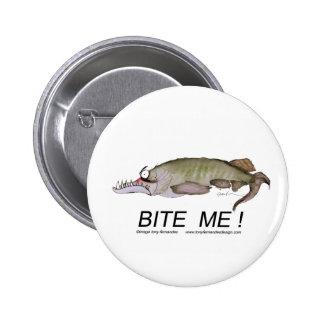 bite me tony fernandes pinback button