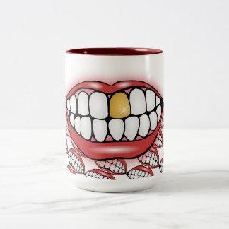 Bite Me Two-Tone Mug