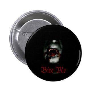 Bite Me Vampire 6 Cm Round Badge