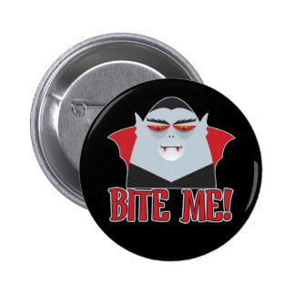 Bite Me Vampire Buttons