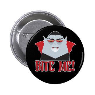 Bite Me Vampire Buttons