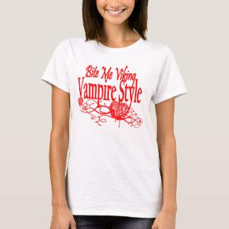 Bite Me Viking Vampire T-Shirt