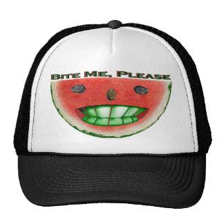 Bite Me Watermelon Hats