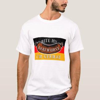 Bite My Bratwurst I'm German T-Shirt