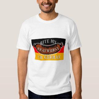 Bite My Bratwurst I'm German T-shirts