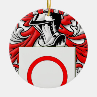 Bitetto Coat of Arms Double-Sided Ceramic Round Christmas Ornament