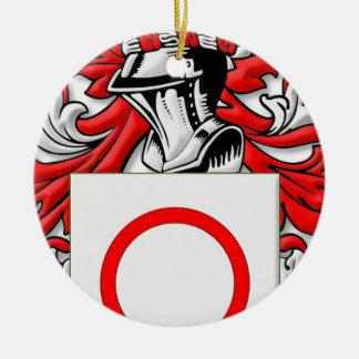 Bitetto Coat of Arms Round Ceramic Decoration