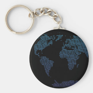 Bitmap Basic Round Button Key Ring