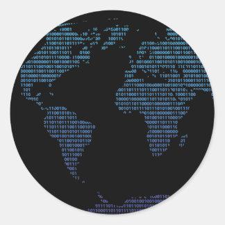 Bitmap Round Sticker