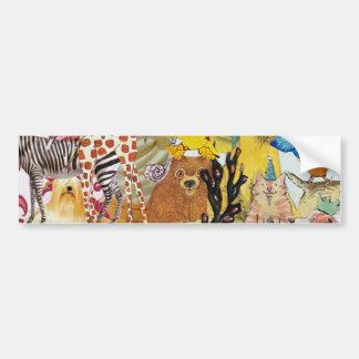 Bits & Bobs collage 3p1 Bumper Sticker