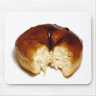 Bitten donut mouse pad