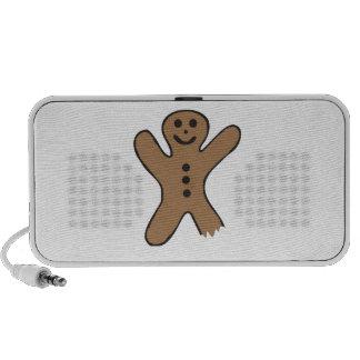 Bitten Gingerbread Speakers