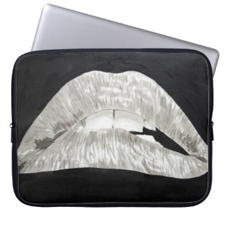 Bitten Lips Sleeve Laptop Computer Sleeves