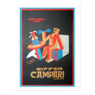 Bitter Campari Post Card