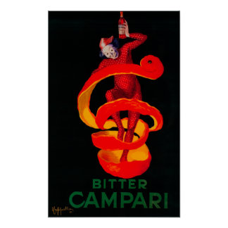 Bitter Campari Vintage PosterEurope Posters