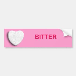 BITTER CANDY HEART BUMPER STICKER