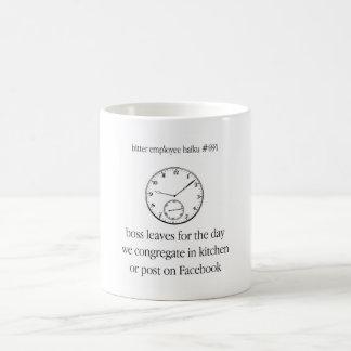 Bitter Employee Haiku #691 Coffee Mug